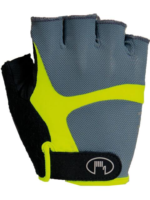 Roeckl Badi Handschuhe grau/gelb